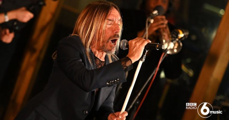 Iggy Pop – Live for BBC 6 Radio Music