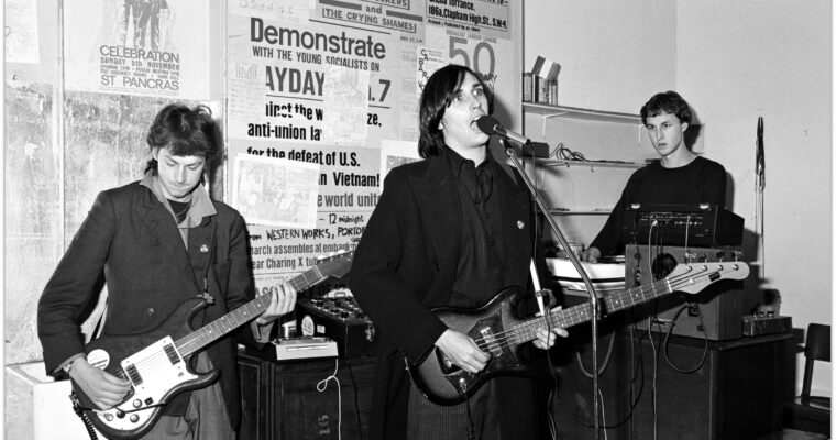 Cabaret Voltaire released a new single after 26 years